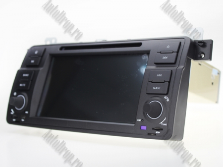 Navigatie BMW E46/M3, Android 10, Quadcore|PX30|/ 2GB RAM + 16GB ROM cu DVD, 7 Inch - AD-BGWBMWE467P316