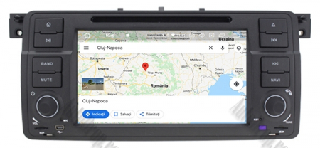 Navigatie BMW E46/M3, Android 10, Quadcore|PX30|/ 2GB RAM + 16GB ROM cu DVD, 7 Inch - AD-BGWBMWE467P314