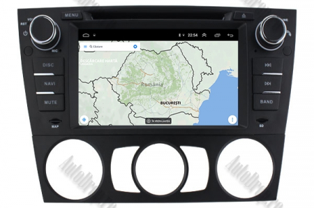Navigatie BMW Seria 3 E90/E91/E92/E93, Android 9, QUADCORE|PX30|/ 2GB RAM si 16GB ROM, 7 Inch - AD-BGWBMWE90LP312