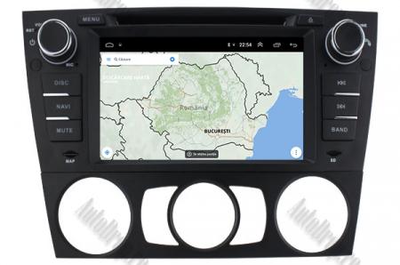 Navigatie BMW Seria 3 E90/E91/E92/E93, Android 9, Octacore|PX5|/ 4GB RAM si 64GB ROM, 7 Inch - AD-BGWBMWE90LP512