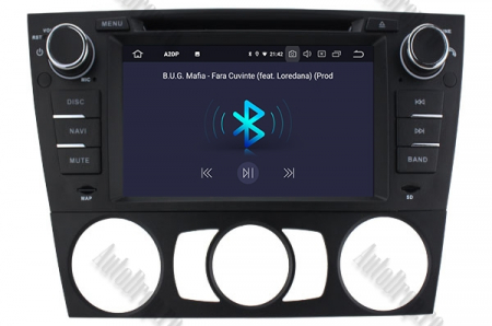 Navigatie BMW Seria 3 E90/E91/E92/E93, Android 9, QUADCORE|PX30|/ 2GB RAM si 16GB ROM, 7 Inch - AD-BGWBMWE90LP35