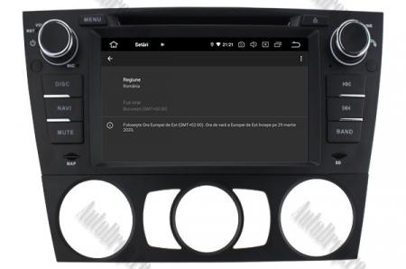 Navigatie BMW Seria 3 E90/E91/E92/E93, Android 9, QUADCORE|PX30|/ 2GB RAM si 16GB ROM, 7 Inch - AD-BGWBMWE90LP38
