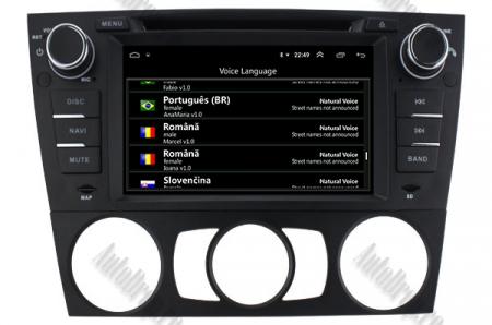 Navigatie BMW Seria 3 E90/E91/E92/E93, Android 9, Octacore|PX5|/ 4GB RAM si 64GB ROM, 7 Inch - AD-BGWBMWE90LP511