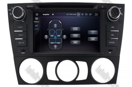 Navigatie BMW Seria 3 E90/E91/E92/E93, Android 9, QUADCORE|PX30|/ 2GB RAM si 16GB ROM, 7 Inch - AD-BGWBMWE90LP36