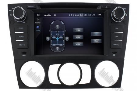 Navigatie BMW Seria 3 E90/E91/E92/E93, Android 9, Octacore|PX5|/ 4GB RAM si 64GB ROM, 7 Inch - AD-BGWBMWE90LP56
