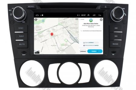 Navigatie BMW Seria 3 E90/E91/E92/E93, Android 9, Octacore|PX5|/ 4GB RAM si 64GB ROM, 7 Inch - AD-BGWBMWE90LP514