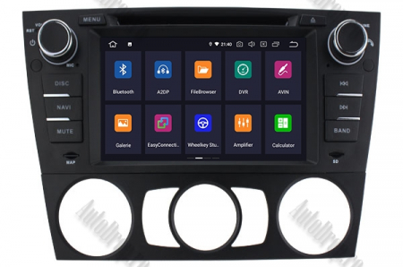 Navigatie BMW Seria 3 E90/E91/E92/E93, Android 9, Octacore|PX5|/ 4GB RAM si 64GB ROM, 7 Inch - AD-BGWBMWE90LP52