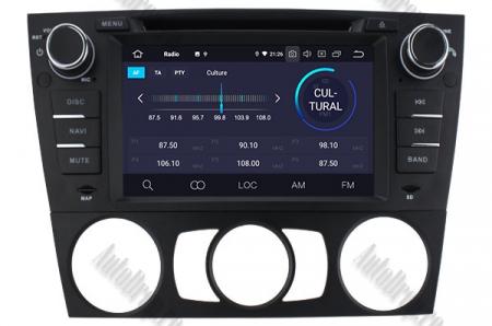 Navigatie BMW Seria 3 E90/E91/E92/E93, Android 9, Octacore|PX5|/ 4GB RAM si 64GB ROM, 7 Inch - AD-BGWBMWE90LP53