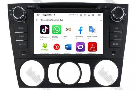 Navigatie BMW Seria 3 E90/E91/E92/E93, Android 9, Octacore|PX5|/ 4GB RAM si 64GB ROM, 7 Inch - AD-BGWBMWE90LP59