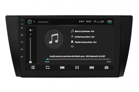 Navigatie BMW Seria 3 E90, E91, E92, QUADCORE MTK  / 1GB RAM + 16 ROM, 9 Inch - AD-BGPE9X9MTK5