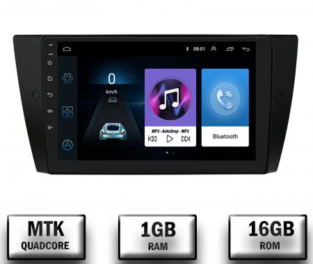 Navigatie BMW Seria 3 E90, E91, E92, QUADCORE MTK  / 1GB RAM + 16 ROM, 9 Inch - AD-BGPE9X9MTK0