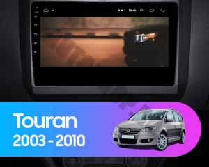 Navigatie Volkswagen Touran (2003-2010), QUADCORE|MTK| / 1GB RAM + 16GB ROM, 10.1 Inch - AD-BGPTOURANMTK14