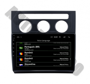Navigatie Volkswagen Touran (2003-2010), QUADCORE|MTK| / 1GB RAM + 16GB ROM, 10.1 Inch - AD-BGPTOURANMTK9