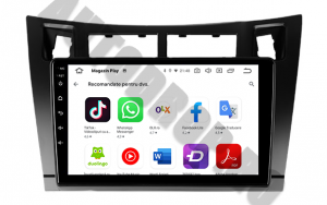 Navigatie Toyota Yaris (2005-2012), QUADCORE|MTK| / 1GB RAM + 16GB ROM, 9 Inch - AD-BGPTOYOTAYARISBMTK9