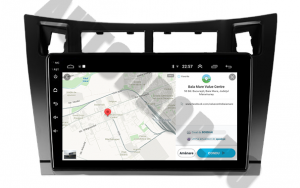 Navigatie Toyota Yaris (2005-2012), QUADCORE|MTK| / 1GB RAM + 16GB ROM, 9 Inch - AD-BGPTOYOTAYARISBMTK6