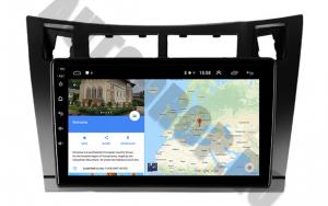 Navigatie Toyota Yaris (2005-2012), QUADCORE|MTK| / 1GB RAM + 16GB ROM, 9 Inch - AD-BGPTOYOTAYARISBMTK8