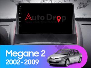 Navigatie Renault Megane 2 (2002-2009), QUADCORE|MTK| / 1GB RAM + 16GB ROM, 9 Inch - AD-BGPMEGANE29MTK15