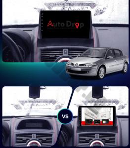 Navigatie Renault Megane 2 (2002-2009), QUADCORE|MTK| / 1GB RAM + 16GB ROM, 9 Inch - AD-BGPMEGANE29MTK14