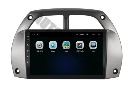 Navigatie Toyota RAV4 (2001-2006), QUADCORE|MTK| / 1GB RAM + 16GB ROM, 9 Inch - AD-BGPORAV4MTK4