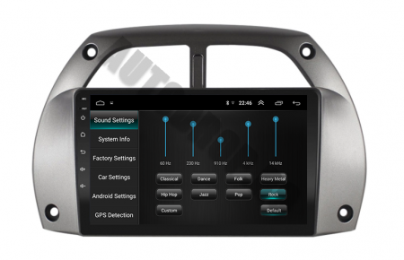 Navigatie Toyota RAV4 (2001-2006), QUADCORE|MTK| / 1GB RAM + 16GB ROM, 9 Inch - AD-BGPORAV4MTK7