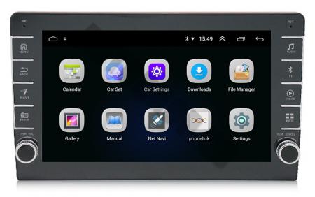 Navigatie Dacia, Android 9.1, QUADCORE|MTK| / 1GB RAM + 16GB ROM, 9 inch - AD-BGPDACIA8MTK2