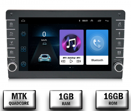 Navigatie Dacia, Android 9.1, QUADCORE|MTK| / 1GB RAM + 16GB ROM, 9 inch - AD-BGPDACIA8MTK0