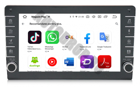Navigatie Dacia, Android 9.1, QUADCORE|MTK| / 1GB RAM + 16GB ROM, 9 inch - AD-BGPDACIA8MTK6