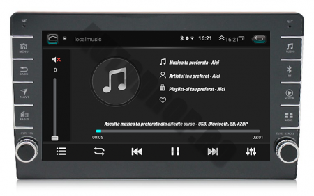 Navigatie Dacia, Android 9.1, QUADCORE|MTK| / 1GB RAM + 16GB ROM, 9 inch - AD-BGPDACIA8MTK5