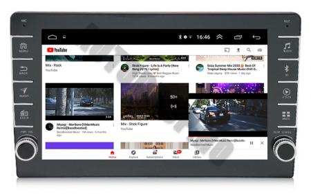 Navigatie Dacia, Android 9.1, QUADCORE|MTK| / 1GB RAM + 16GB ROM, 9 inch - AD-BGPDACIA8MTK11