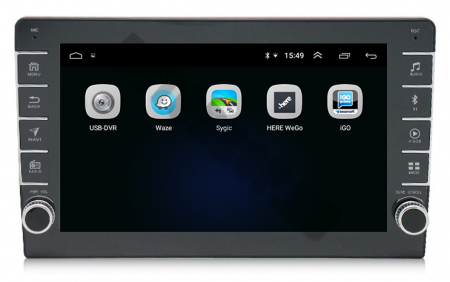 Navigatie Dacia, Android 9.1, QUADCORE|MTK| / 1GB RAM + 16GB ROM, 9 inch - AD-BGPDACIA8MTK3