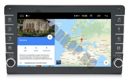 Navigatie Dacia, Android 9.1, QUADCORE|MTK| / 2GB RAM + 32GB ROM, 9 inch - AD-BGPDACIA8MTK2GB11