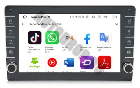 Navigatie Dacia, Android 9.1, QUADCORE|MTK| / 2GB RAM + 32GB ROM, 9 inch - AD-BGPDACIA8MTK2GB13
