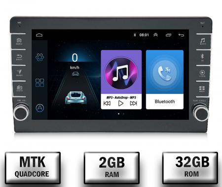 Navigatie Dacia, Android 9.1, QUADCORE|MTK| / 2GB RAM + 32GB ROM, 9 inch - AD-BGPDACIA8MTK2GB0