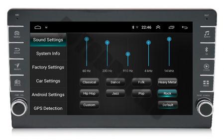 Navigatie Dacia, Android 9.1, QUADCORE|MTK| / 2GB RAM + 32GB ROM, 9 inch - AD-BGPDACIA8MTK2GB7