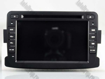 NAVIGATIE Dacia/Renault, ANDROID 10, Quadcore|PX30|/ 2GB RAM + 16GB ROM cu DVD, 7 Inch - AD-BGWDACIA7P315