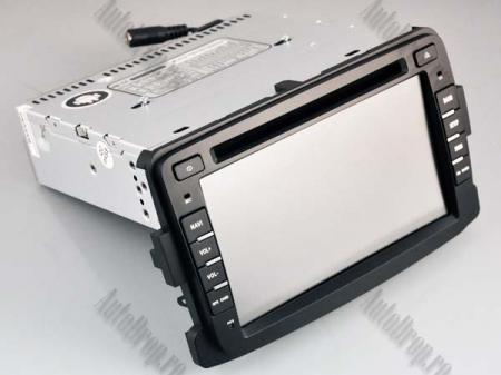 NAVIGATIE Dacia/Renault, ANDROID 10, Quadcore|PX30|/ 2GB RAM + 16GB ROM cu DVD, 7 Inch - AD-BGWDACIA7P316