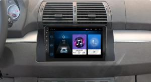 NAVIGATIE BMW E39/E53/E38, ANDROID 9.1, QUADCORE|MTK|/ 1GB RAM + 16GB ROM, 9 INCH - AD-BGPBMWE39MTK1GB18