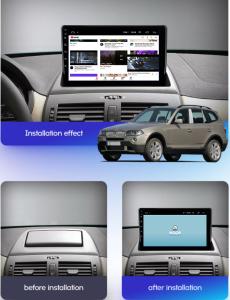 Navigatie BMW X3 E83 (2003-2010), QUADCORE MTK  / 1GB RAM + 16GB ROM, 9 Inch - AD-BGPBMWX3MTK17