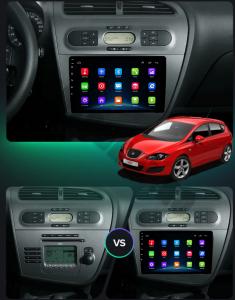 Navigatie Seat Leon (2005-2012), QUADCORE|MTK| / 1GB RAM + 16GB ROM, 9 Inch - AD-BGPLEON9MTK17