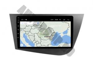 Navigatie Seat Leon (2005-2012), QUADCORE|MTK| / 1GB RAM + 16GB ROM, 9 Inch - AD-BGPLEON9MTK9