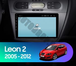 Navigatie Seat Leon (2005-2012), QUADCORE|MTK| / 1GB RAM + 16GB ROM, 9 Inch - AD-BGPLEON9MTK18