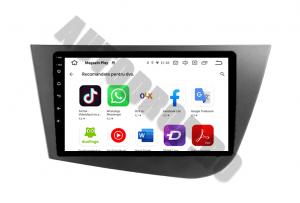 Navigatie Seat Leon (2005-2012), QUADCORE|MTK| / 1GB RAM + 16GB ROM, 9 Inch - AD-BGPLEON9MTK12