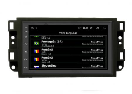 Navigatie Chevrolet Aveo / Captiva / Epica (2006-2011), QUADCORE|MTK| / 1GB RAM + 16GB ROM, 7 Inch - AD-BGPCEVMTK16