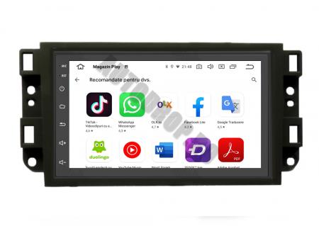 Navigatie Chevrolet Aveo / Captiva / Epica (2006-2011), QUADCORE|MTK| / 1GB RAM + 16GB ROM, 7 Inch - AD-BGPCEVMTK8