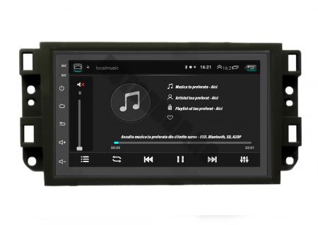 Navigatie Chevrolet Aveo / Captiva / Epica (2006-2011), QUADCORE|MTK| / 1GB RAM + 16GB ROM, 7 Inch - AD-BGPCEVMTK3