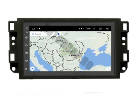 Navigatie Chevrolet Aveo / Captiva / Epica (2006-2011), QUADCORE|MTK| / 1GB RAM + 16GB ROM, 7 Inch - AD-BGPCEVMTK10