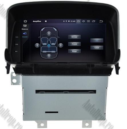 Navigatie Opel Mokka, Android 9, Octacore|PX5| / 4GB RAM + 64 ROM cu DVD, 8 Inch - AD-BGWOPLMKP56