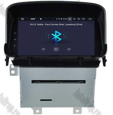 Navigatie Opel Mokka, Android 9, Octacore|PX5| / 4GB RAM + 64 ROM cu DVD, 8 Inch - AD-BGWOPLMKP54