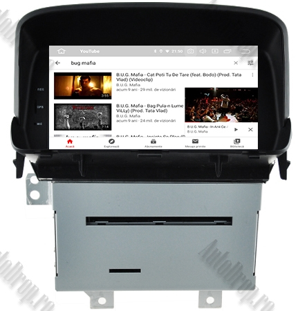 Navigatie Opel Mokka, Android 9, QUADCORE|PX30| / 2GB RAM + 16 ROM cu DVD, 8 Inch - AD-BGWOPLMKP39