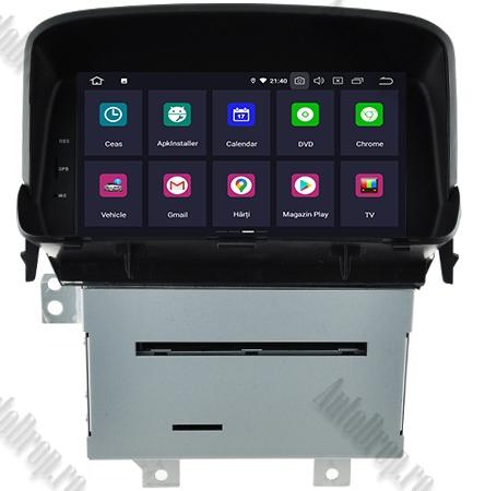 Navigatie Opel Mokka, Android 9, QUADCORE|PX30| / 2GB RAM + 16 ROM cu DVD, 8 Inch - AD-BGWOPLMKP31